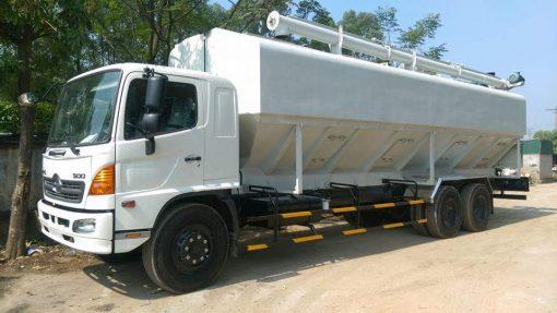 Xe chở cám Hino FL8JTSL 35m3 1