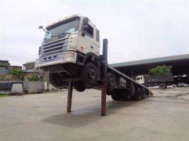 Xe nâng đầu chở máy Jac 19 tấn 1