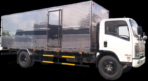 Xe tải thùng kín Isuzu FN129 8,1 tấn 1