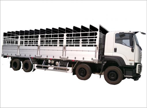 Xe tải thùng mui bạt Isuzu FV 330 18 tấn 1