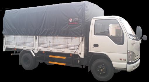 Xe tải thùng mui bạt Isuzu NK490 2,5 tấn 1