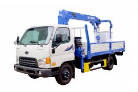 Xe tải gắn cẩu Tadano