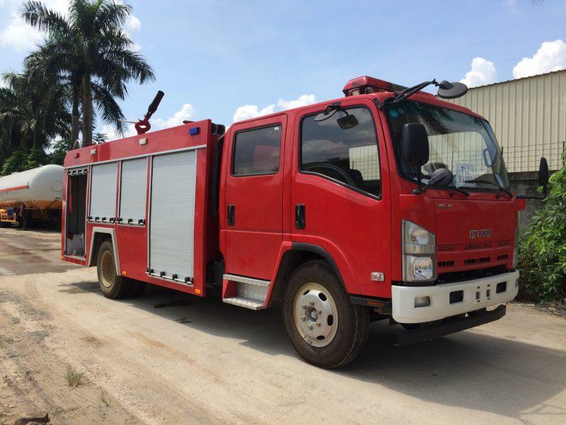 Xe cứu hỏa Isuzu 5m3