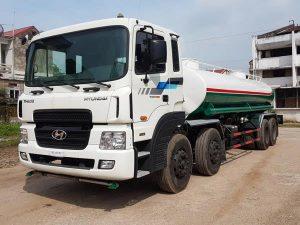 xe phun nước rửa đường huyndai hd310