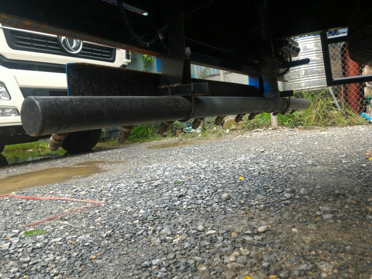 xe phun nước rửa đường Thaco 5,5m3