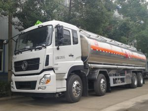 xe chở xăng dầu 4 chân dongfeng bồn hợp kim nhôm nhập khẩu nguyên chiếc