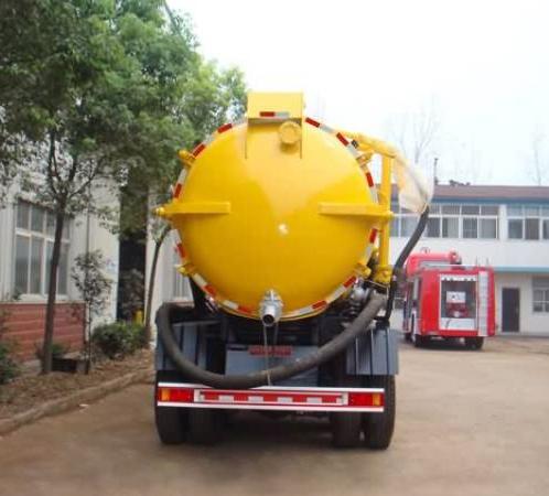 Xe hút bùn, hút chất thải 12 khối Dongfeng