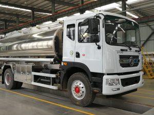 xe chở xăng dầu dongfeng bồn hợp kim nhôm nhập khẩu nguyên chiếc