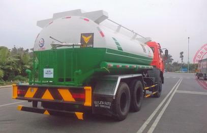 xe phun nước rửa đường 14 khối 2 cầu KAMAZ