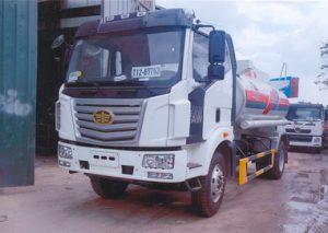 xe chở xăng dầu 11 khối Faw