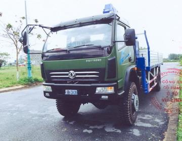 xe tải gắn cẩu Tadano 5 tấn VIETTRUNG