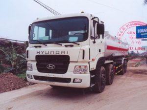xe chở xăng dầu 22 khối Hyundai hd310