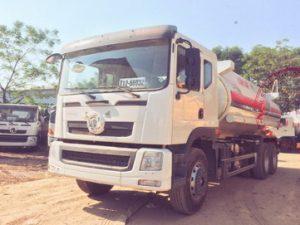 xe chở xăng dầu 18 khối Dongfeng
