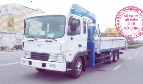 xe tải gắn cẩu Tadano 5 tấn Hyundai HD210