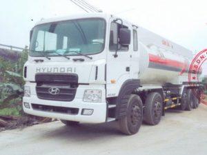 xe chở xăng dầu 26 khối Hyundai HD360