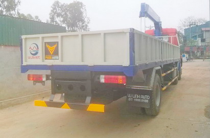 Xe tải gắn cẩu Tadano 5 tấnTM-ZT505 Faw