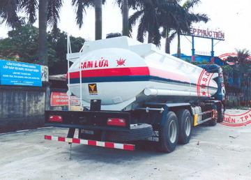 xe bồn, xitec chở xăng dầu 22 khối CamC