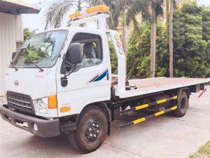 xe cứu hộ giao thông kéo, chở xe Hyundai HD800 tải trọng cao 5 tấn 7