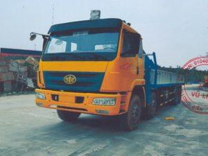 Xe tải gắn cẩu DONGYANG 8 tấn Faw