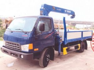 xe tải gắn cẩu Tadano 3 tấn Hyundai hd700