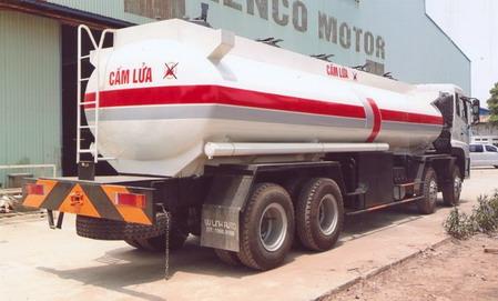 xe chở xăng dầu 23 khối CHUFENG