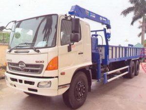 xe tải gắn cẩu Tadano 5 tấn HINO FL