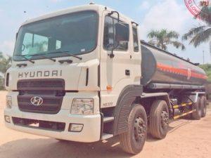 xe chở hóa chất, chở HEXANE 22 khốiHYUNDAI HD320/VL-HX