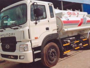 xe chở xăng dầu 10 khối Hyundai HD170