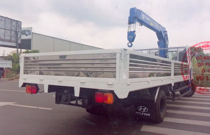xe tải gắn cẩu Tadano 5 tấn Hino FC