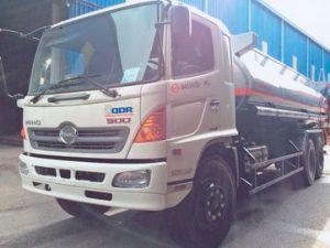 xe chở xăng dầu 19 khối Hino FL