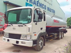xe chở xăng dầu 17 khối Hyundai Hd210