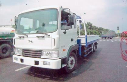 xe tải gắn cẩu Tadano 3 tấn Hyundai HD210