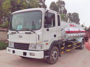 xe chở xăng dầu 7 khối Hyundai Hd120