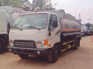 xe chở xăng dầu 9 khối Hyundai MIGHTY HD700