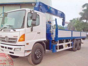 xe tải gắn cẩu Tadano 8 tấn Hino FL