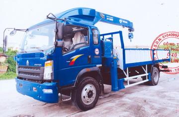 Xe tải gắn cẩu Tadano 5 tấn HowoCNHTC