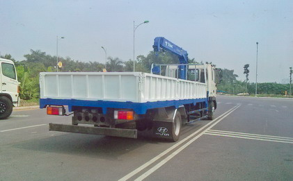 xe tải gắn cẩu Tadano 3 tấn Hyundai Hd120
