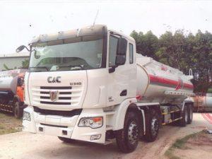 xe chở xăng dầu 21 khối C&C