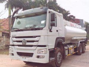 xe chở xăng dầu 16 khối Howo
