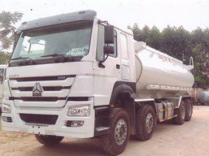 xe chở xăng dầu 21 khối Howo