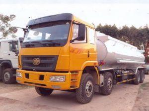 xe chở xăng dầu 21 khối Faw