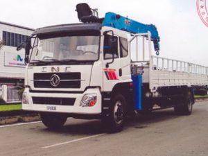 xe tải gắn cẩu Dongyang 7 tấn Dongfeng