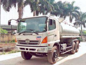 xe chở hóa chất, chở cồn 18 khốiHINO FM8JNSA
