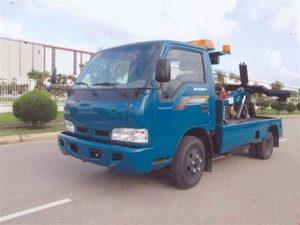 xe cứu hộ giao thông kéo xe Thaco k165