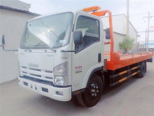 xe cứu hộ giao thông kéo, chở xe Isuzu Nqr75m tải trọng 3,6 tấn