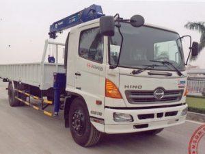 xe tải gắn cẩu Tadano 5 tấn HINO FG