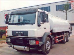 xe chở dầu diesel 21 khối Man