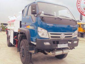 xe chở xăng dầu 6 khối Thaco 2 cầu