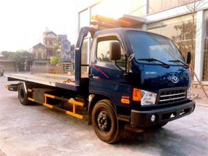 Xe cứu hộ giao thông Hyundai hd120