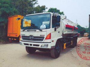 xe chở xăng dầu 18 khối Hino Fm